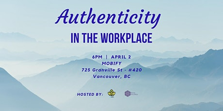 Authenticity in the Workplace tickets