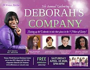 Gathering of Deborah's Company 2020 tickets
