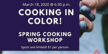 Cooking in Color! tickets