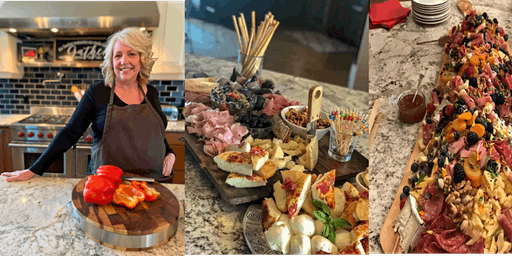 Creating Charcuterie Boards with Vicki DeFrancesco  Sat. Feb. 22nd