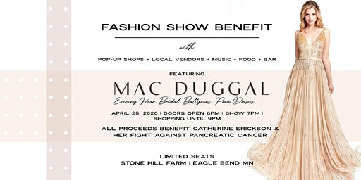 A Golden Fashion Show Benefit at Stone Hill Farm