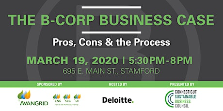 The B-Corp Business Case: The Pros, The Cons & The Process tickets