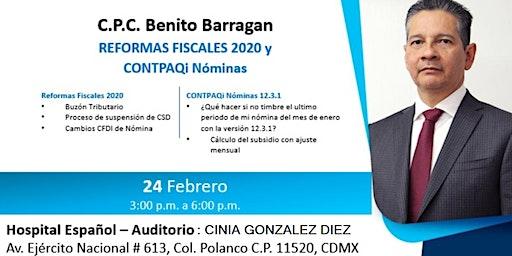 Reformas Fiscales 2020 y CONTPAQi Nominas (Polanco)