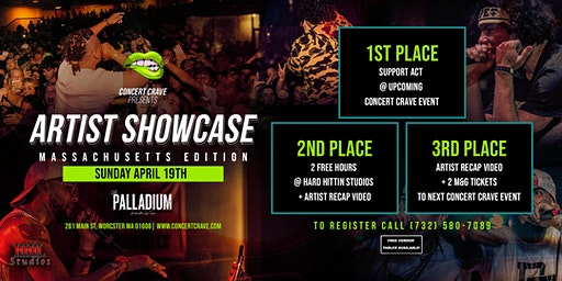 CONCERT CRAVE ARTIST SHOWCASE - Worcester, MA