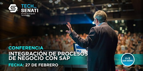 Conferencia: Integración de procesos de negocio con SAP entradas