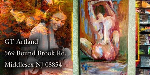 Naked Girl Valentine R&B Paint Session with GT Artland