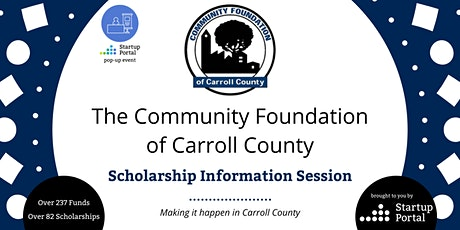 Community Foundation of Carroll County Scholarship Info Session tickets