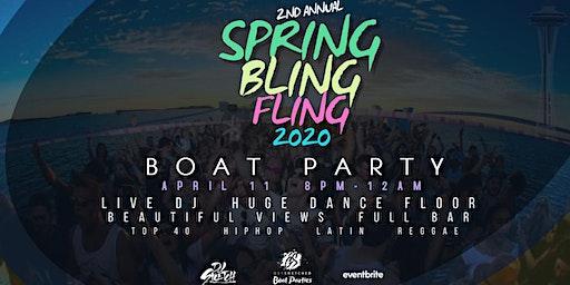 Spring Bling Fling 2020  Boat Party