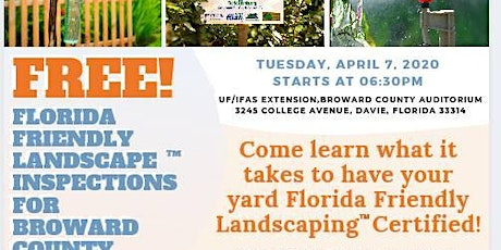 Florida Friendly Landscaping Workshop for Homeowners tickets
