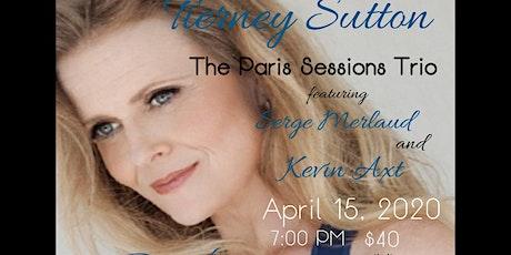 Tierney Sutton Trio- The Paris Sessios tickets