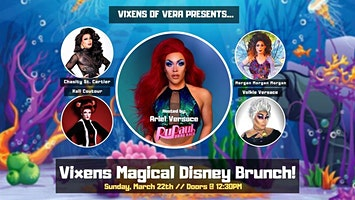 Vixens of Vera Drag Brunch: Disney Edition!