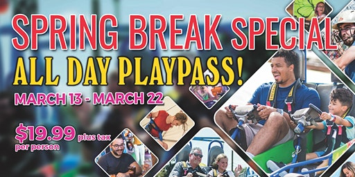 Spring Break at Celebration Station OKC