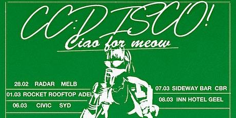 CC:DISCO! tickets