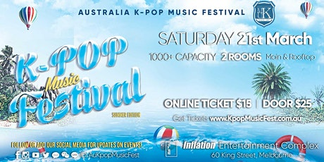 Melbourne Kpop Music Festival [1000+ Capacity] Early Bird Sale Ends Soon! tickets