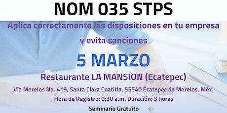 NOM035- STPS (Ecatepec) boletos