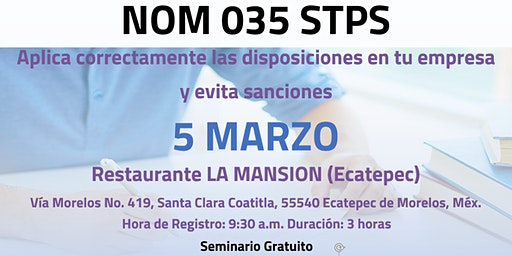NOM035- STPS (Ecatepec)
