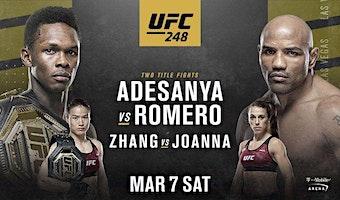 UFC 248 LIVE at Emperors! Adesanya vs Romero