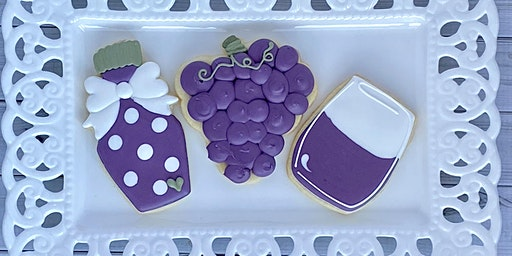 Cookie Decorating and Wine Tasting