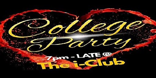 College Party ★ (Mon 17th Feb) student promoter Kenzie-James