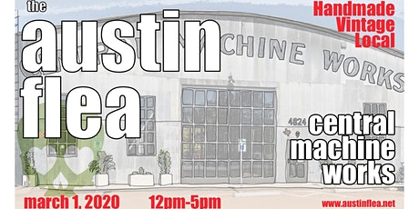 The Austin Flea at Central Machine Works tickets