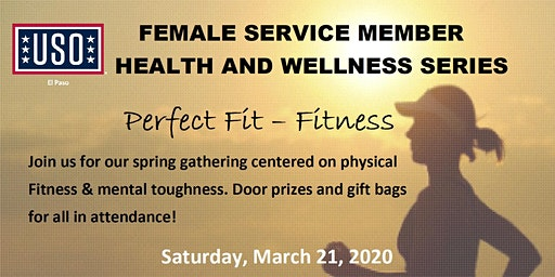 Female Service Member Health & Wellness Series: Physical  & Mental Fitness