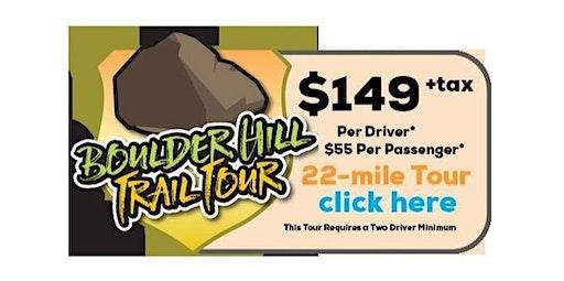 Boulder Hills Trail Tour (02-23-2020 starts at 5:00 PM)