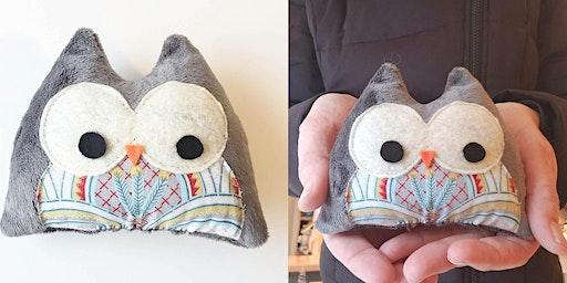 Sew a Stuffed animal Owl ages 9+ - FEBRUARY BREAK