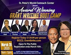 Award Winning Grant Writing Bootcamp tickets