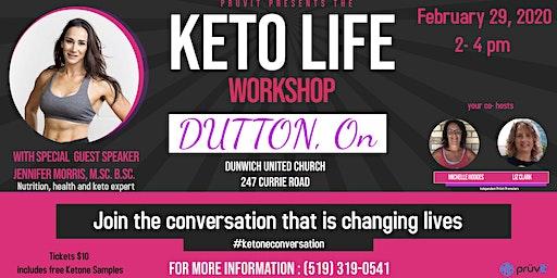 Keto Life Workshop- Dutton, ON