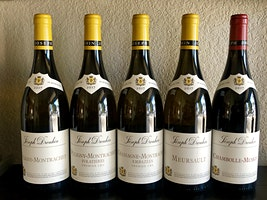 Joseph Drouhin French Burgundy Wines and Appetizers