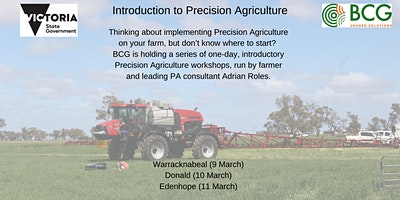 Introduction to Precision Agriculture (Edenhope)