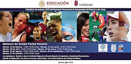 Seminario Permanente Antropología del Deporte y el Juego entradas
