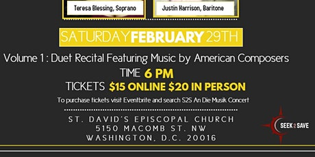 An Die Musik Concert Series (Classical Edition) Vol. 1 tickets