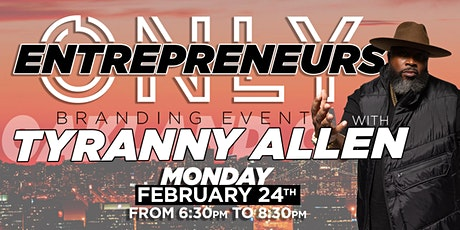 Entrepreneurs Only tickets