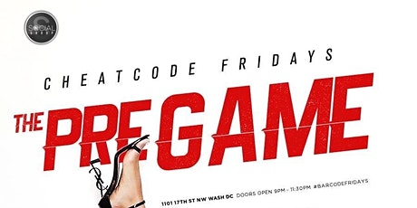Cheat Code Fridays at Barcode tickets