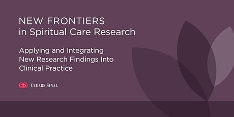 New Frontiers in Spiritual Care Research tickets