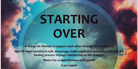 Starting Over: A Support Group for Women tickets