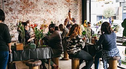 Flower Workshop PLF x The Waterfront tickets
