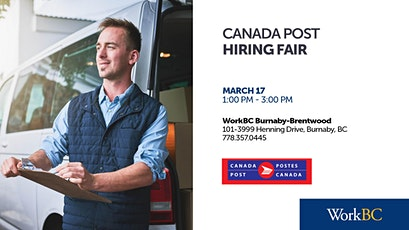 Canada Post - Hiring Fair tickets