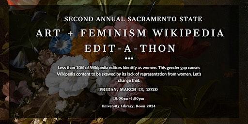 Art + Feminism Wikipedia Edit-a-Thon at Sacramento State