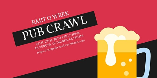 RMIT O Week Pub Crawl