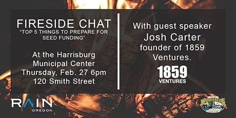 Fireside Chat: Preparing for Seed Funding tickets