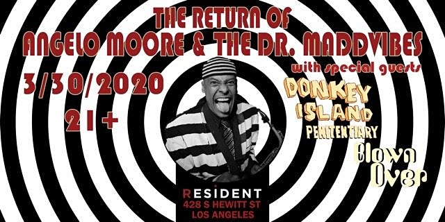 Postponed // The Return of Angelo Moore and the MaddVibes