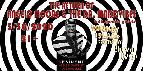 The Return of Angelo Moore and the MaddVibes tickets