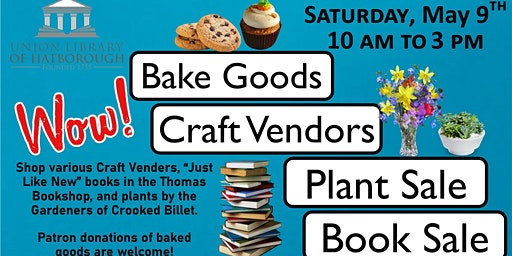 Book, Bake, Plant & Craft Sale