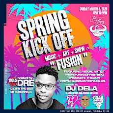 Dre from 1035 THE BEAT host Spring Break Kick Off Art Music Live Shows tickets