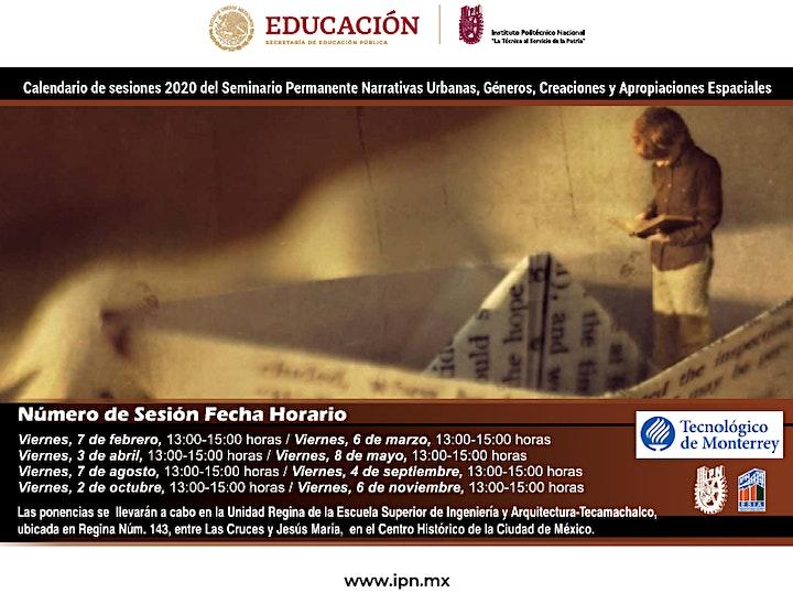 Imagen de Seminario Permanente Narrativas Urbanas, Géneros, Creaciones y Aprop...