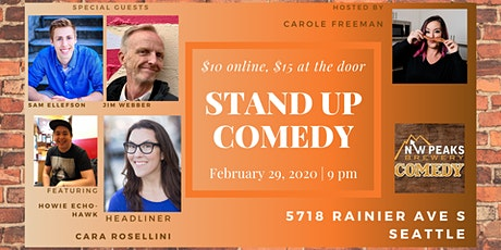 Stand Up Comedy Show : February 29th tickets