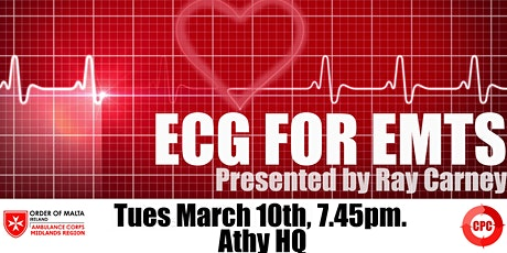 ECG For EMTs - Order of Malta Midlands EMT CPC tickets