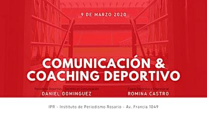 CHARLA INFORMATIVA - PRESENTACIÓN 2º EDICIÓN COMUNICACIÓN Y COACHING DEPORTIVO 2020 entradas